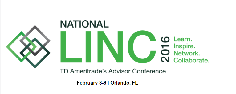 QuonWarrene speaking at the TD Ameritrade LINC 2016 Conference